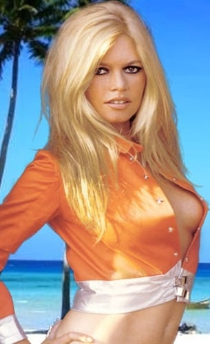 Bikini forefront bardot brigitte bikini