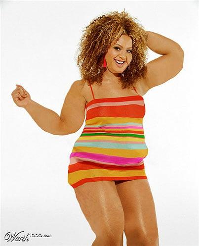 Beyonce fat
