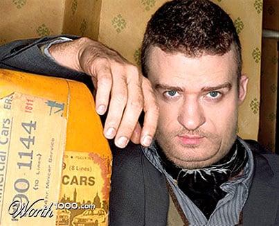 Justin Timberlake fat