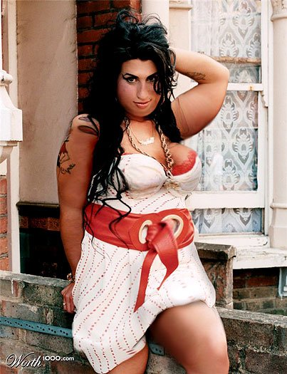 Amy Winehouse fat