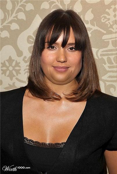 Jessica Alba fat