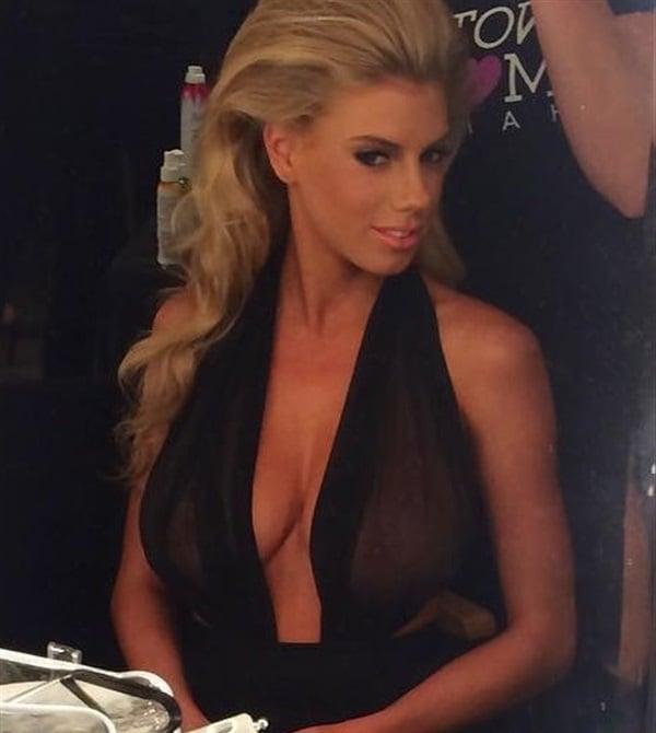 Charlotte McKinney nipples