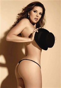 playboy Alicia machado nude