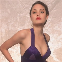 Photos Of 16-Year-Old Angelina Jolie Modeling Swimsuits Uncovered
