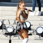 Ariana Grande Dresses Like A Schoolgirl And Sells Her Used Panties In Japan