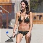Ashley Greene Wet Bikini Pics
