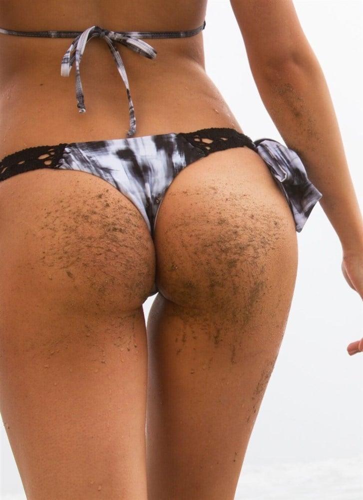 Ava Sambora Shows Off Her Nips And Ass In A Thong Bikini Photo Shoot