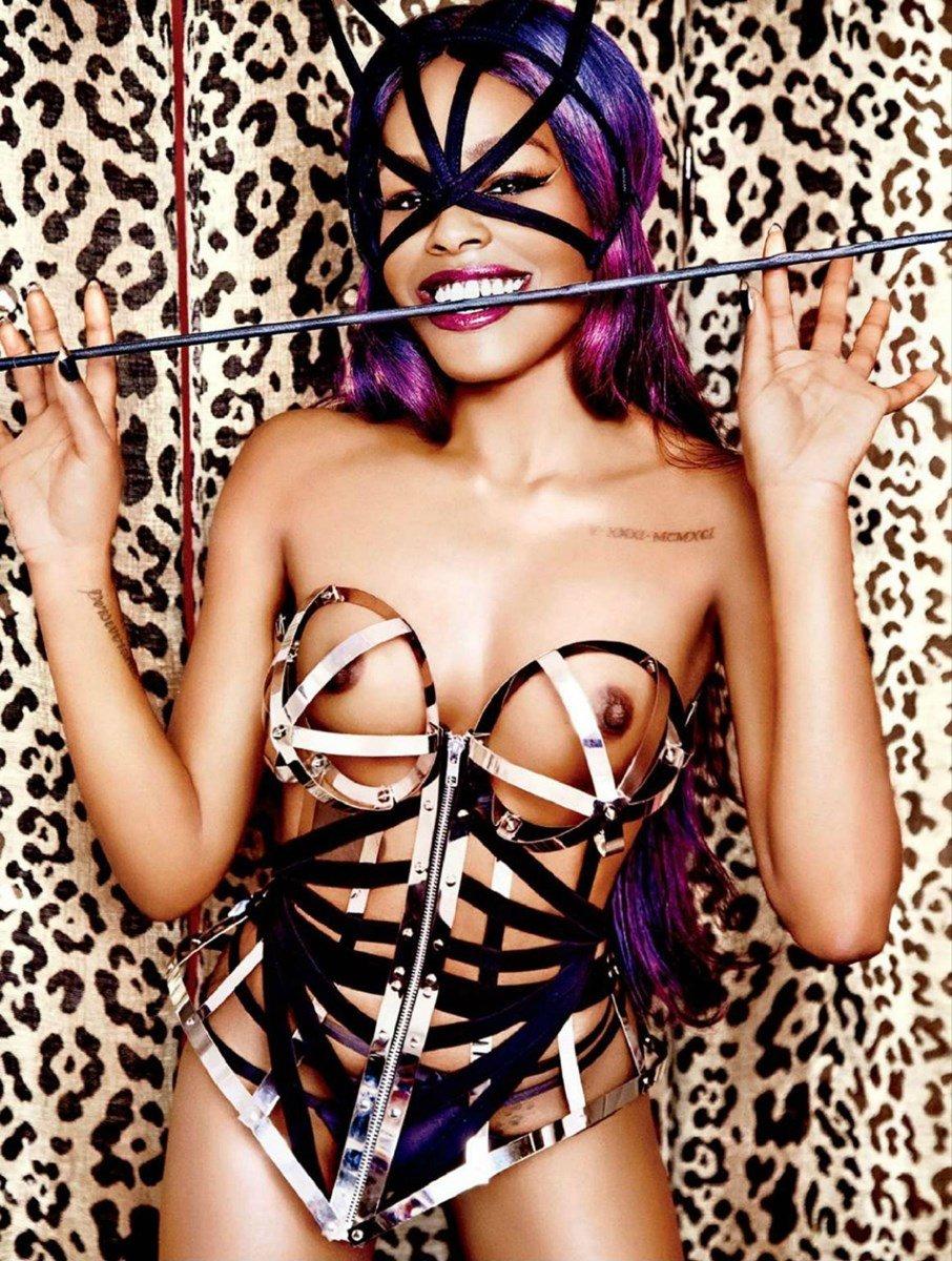 Azealia Banks Topless Tweet And Nude Photos