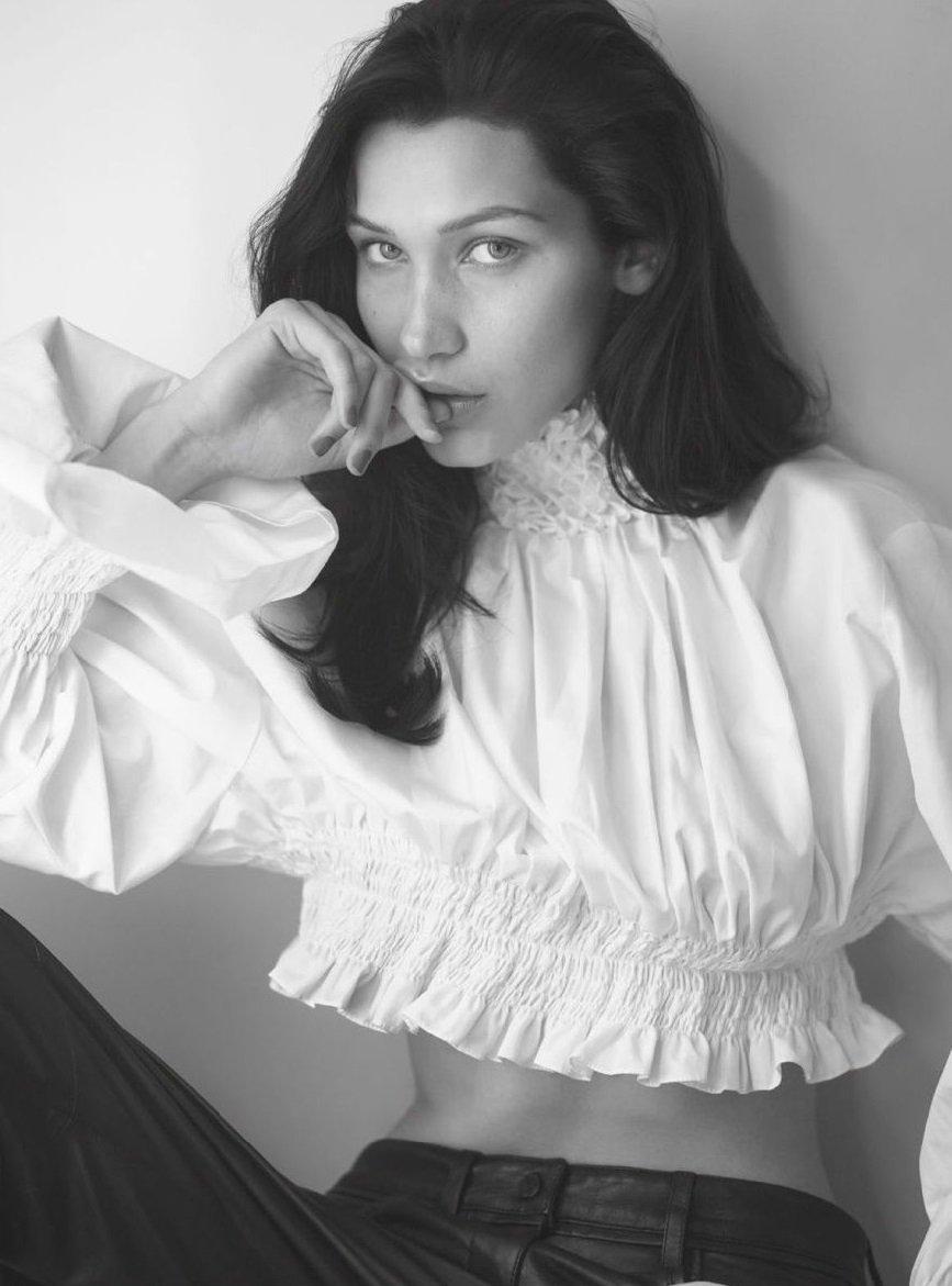 Bella Hadid Nude For Vogue Magazine