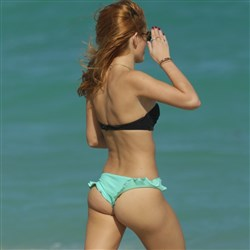 Bella Thorne Thong Bikini Pics And Video