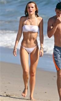bella thorne wet white bikini pics