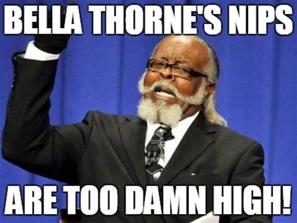 Bella Thorne meme