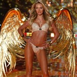 Candice Swanepoel At The 2014 Victoria's Secret Fashion Show