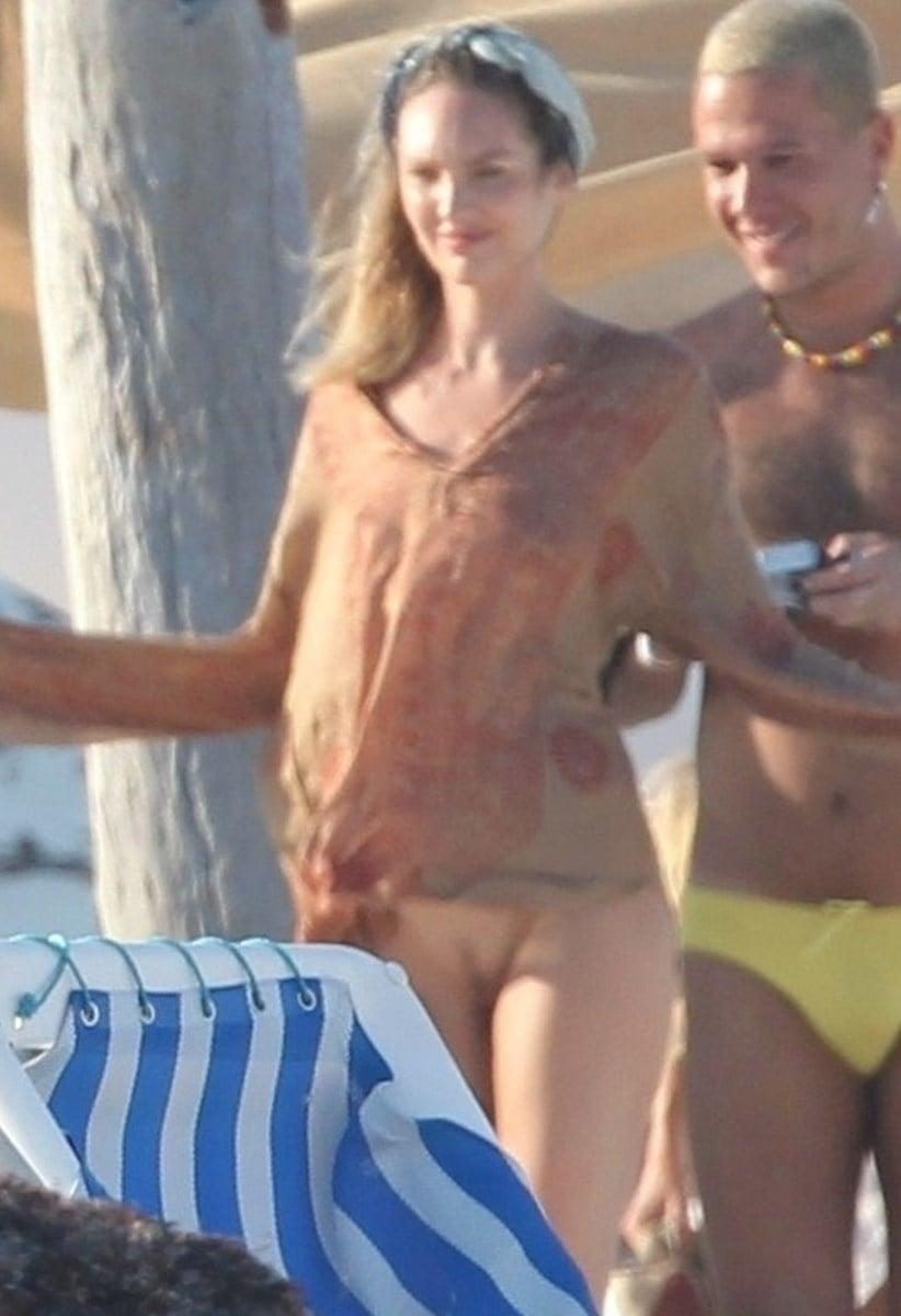 Candice Swanepoel Nude Behind-The-Scenes Photos