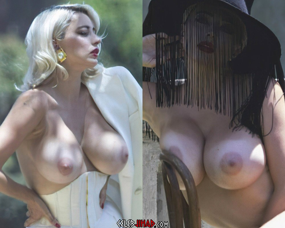 Caroline Vreeland Topless Nude Photo Shoot