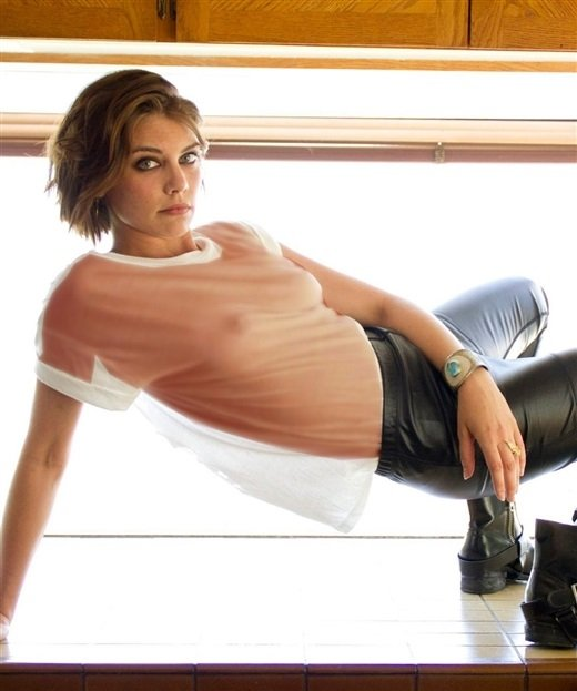 Lauren Cohan X-ray