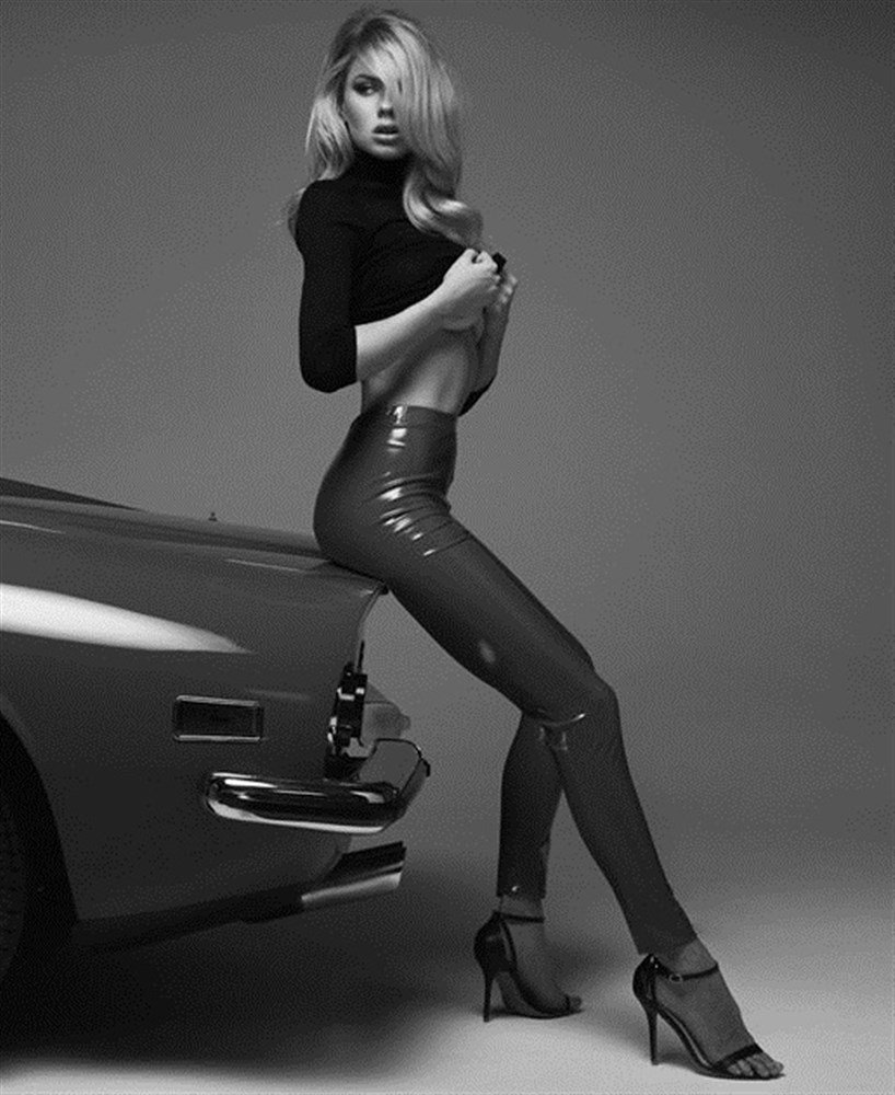 Charlotte McKinney Topless And Humping A Car