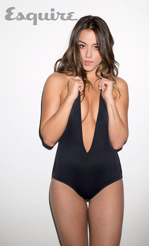 Chloe Bennet Sluts It Up For Esquire