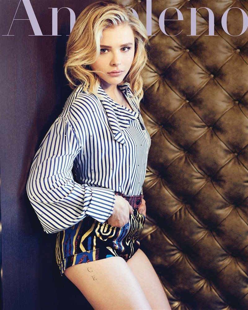 Chloe Grace Moretz Attempts Being Sexy