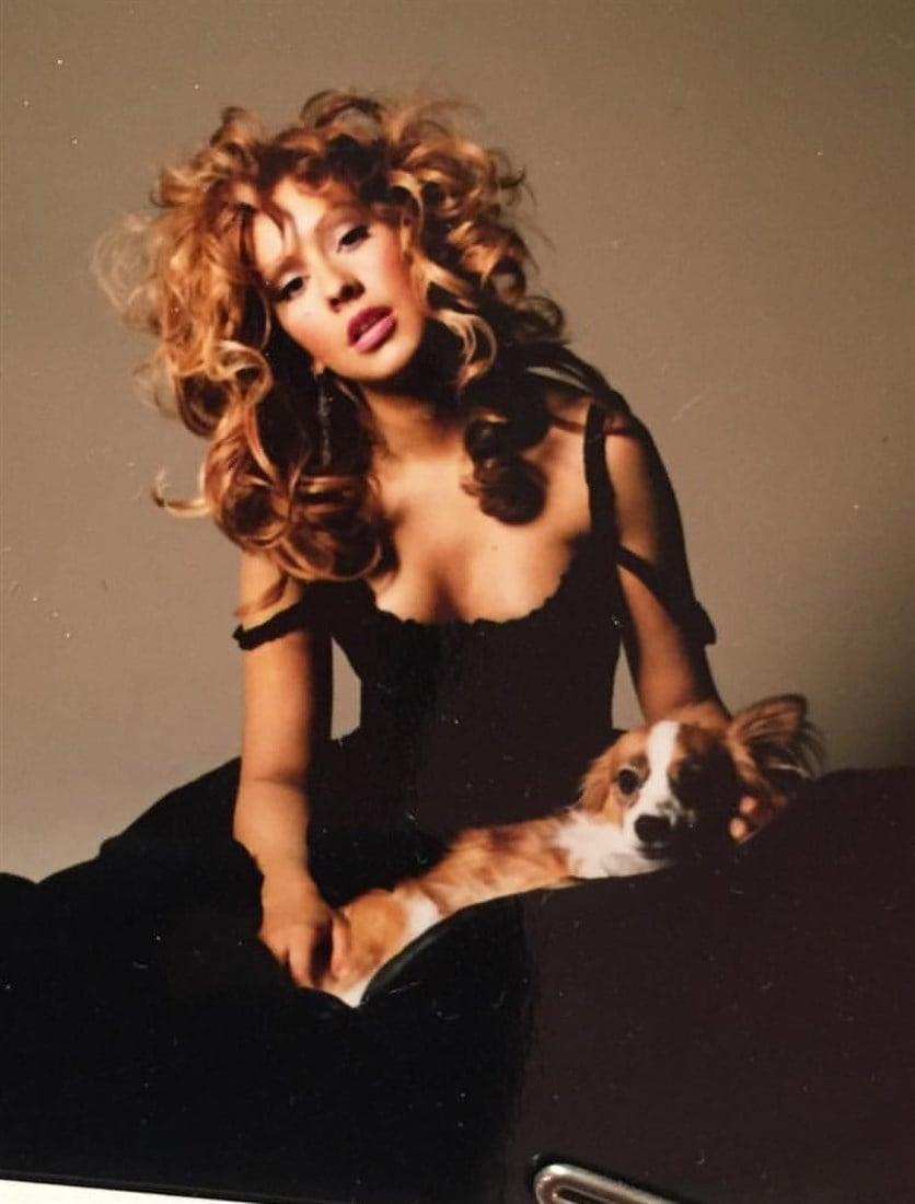 Christina Aguilera Boob Slip In Unreleased Pics