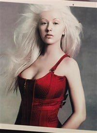 Breasts bares christina aguilera