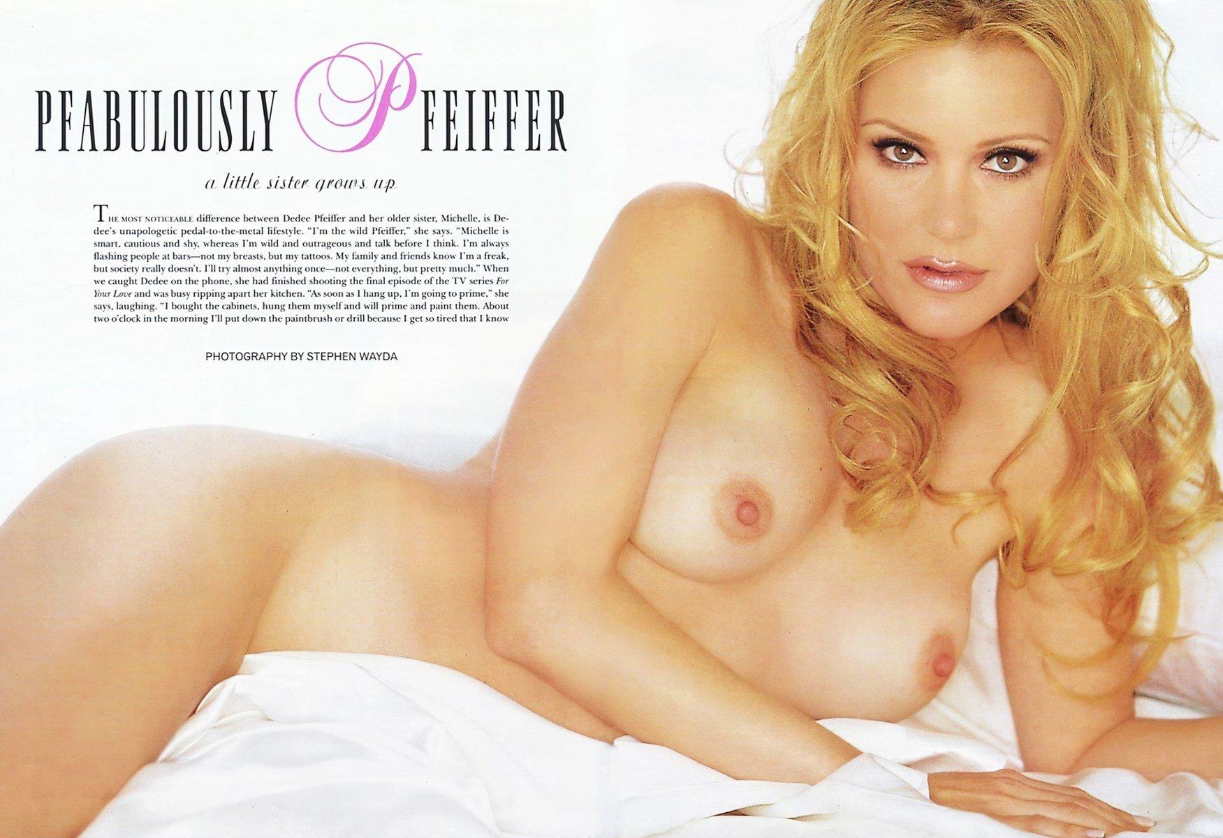 Pfeiffer  nackt Dedee 41 Hottest
