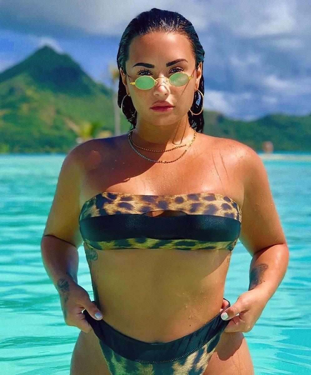 Demi Lovato Fat Ass Bikini Pics