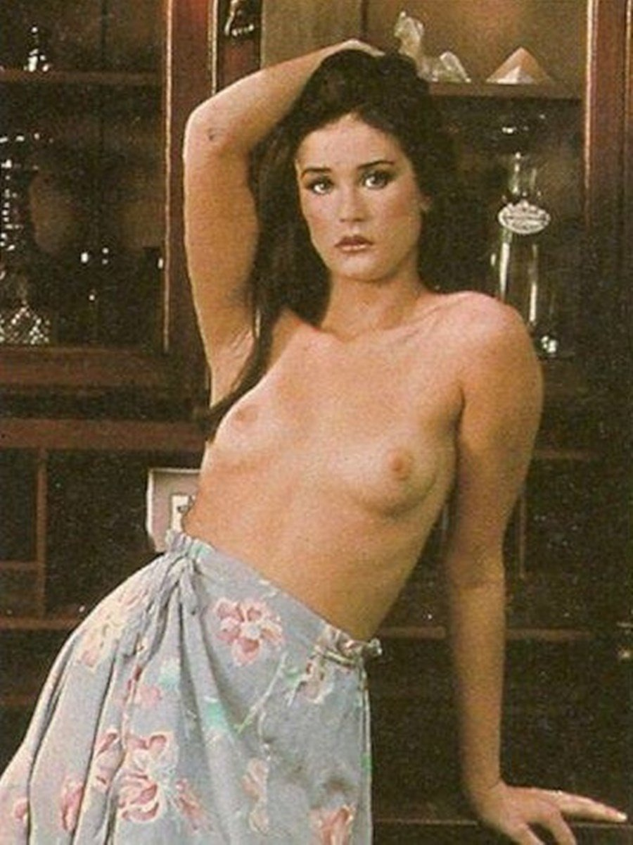 demi moore hairy