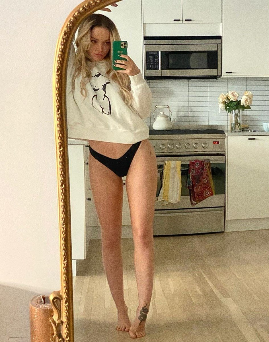 Dove Cameron Getting Close To Getting Naked
