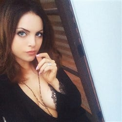 Catching Up With Elizabeth Gillies' Breasts On Instagram