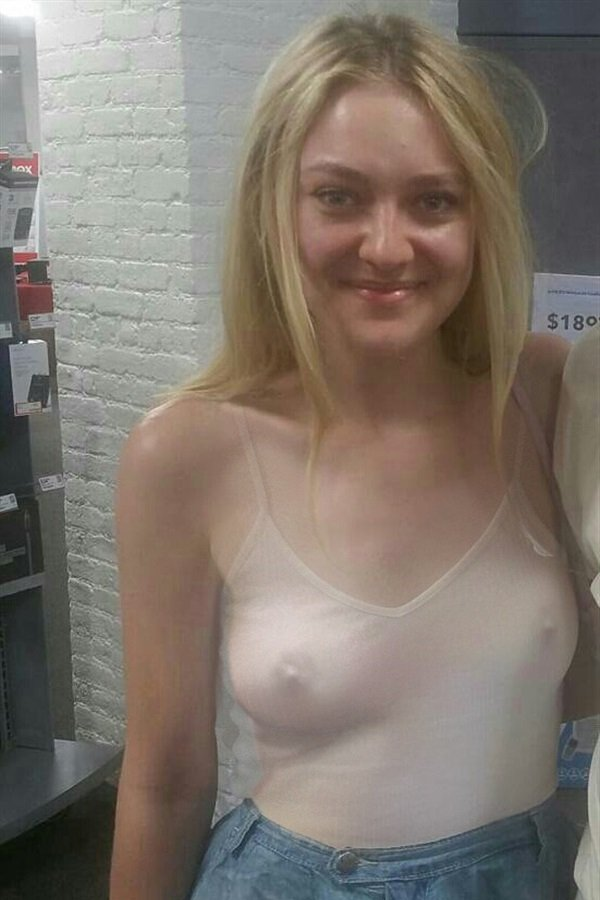 Consider, Dakota fanning nude pussy question