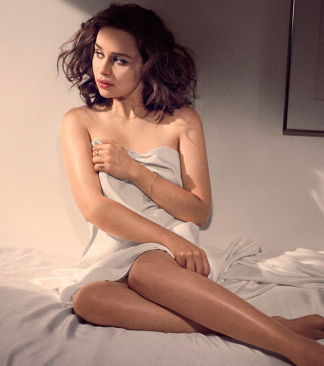 Emilia Clarke Covered Nudes Colorized
