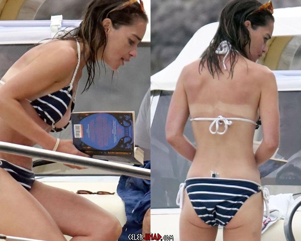 Emilia Clarke Sick In Candid Bikini Pics