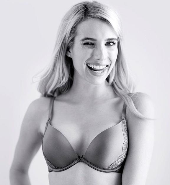 Emma Roberts Bra And Panties Photo Shoot