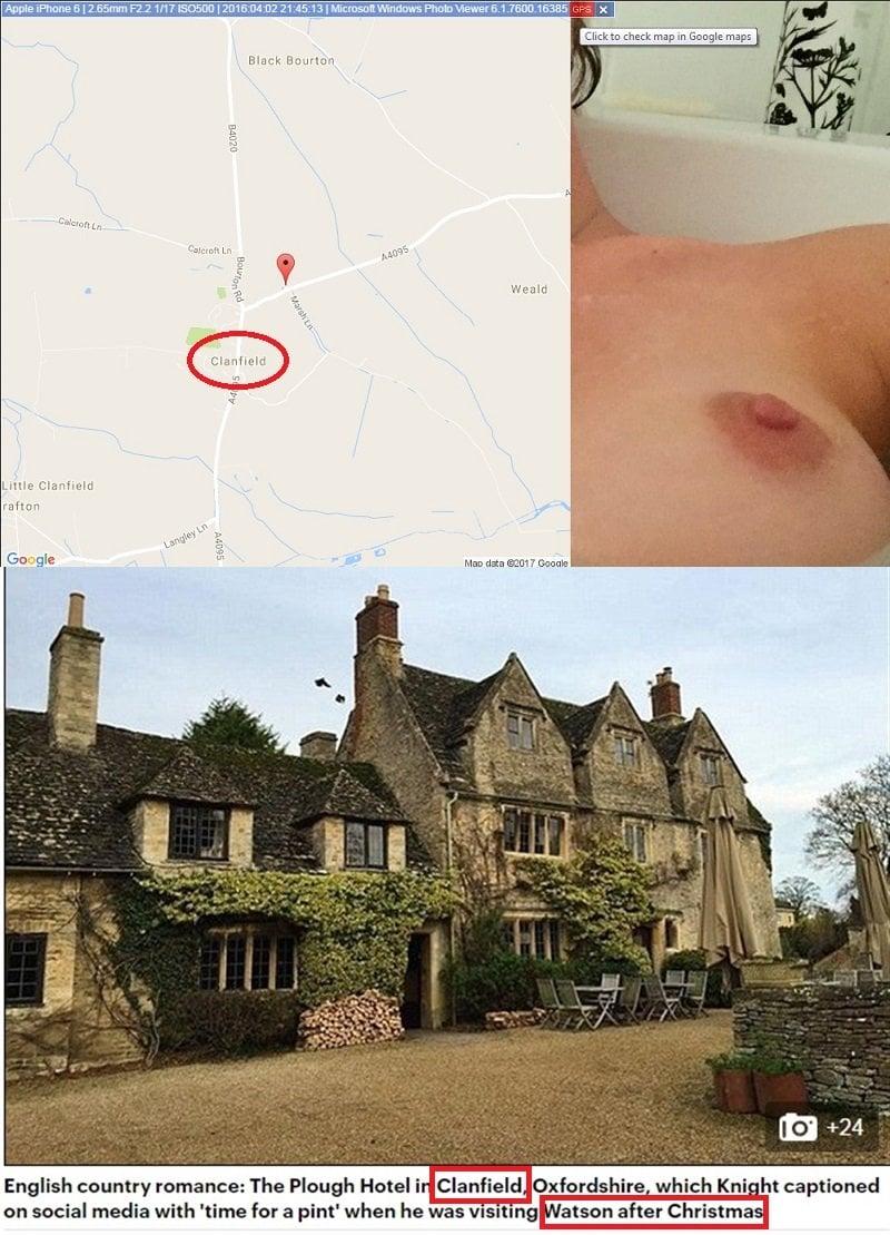 Emma Watson Nude Bath Video Proven To Be Legit