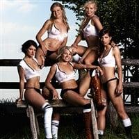 Germany Women's Soccer Team Nude In Playboy