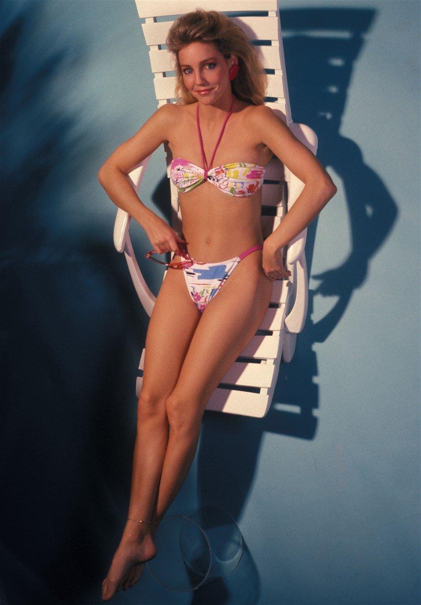 Heather Locklear 1980's Swimsuit Photo Shoot