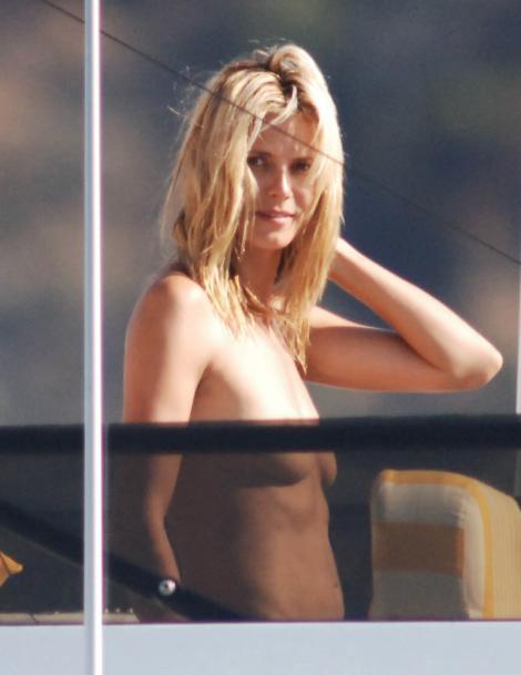 Heidi Klum nackt, Oben ohne Bilder, Playboy Fotos, Sex Szene