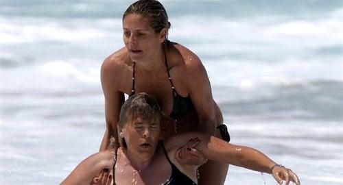 Heidi Klum nipple