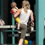 Hilary Duff Defiles Easter With Her Ass In Yoga Pants
