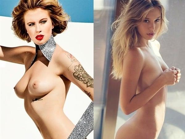 Ireland Baldwin Alexis Ren nude