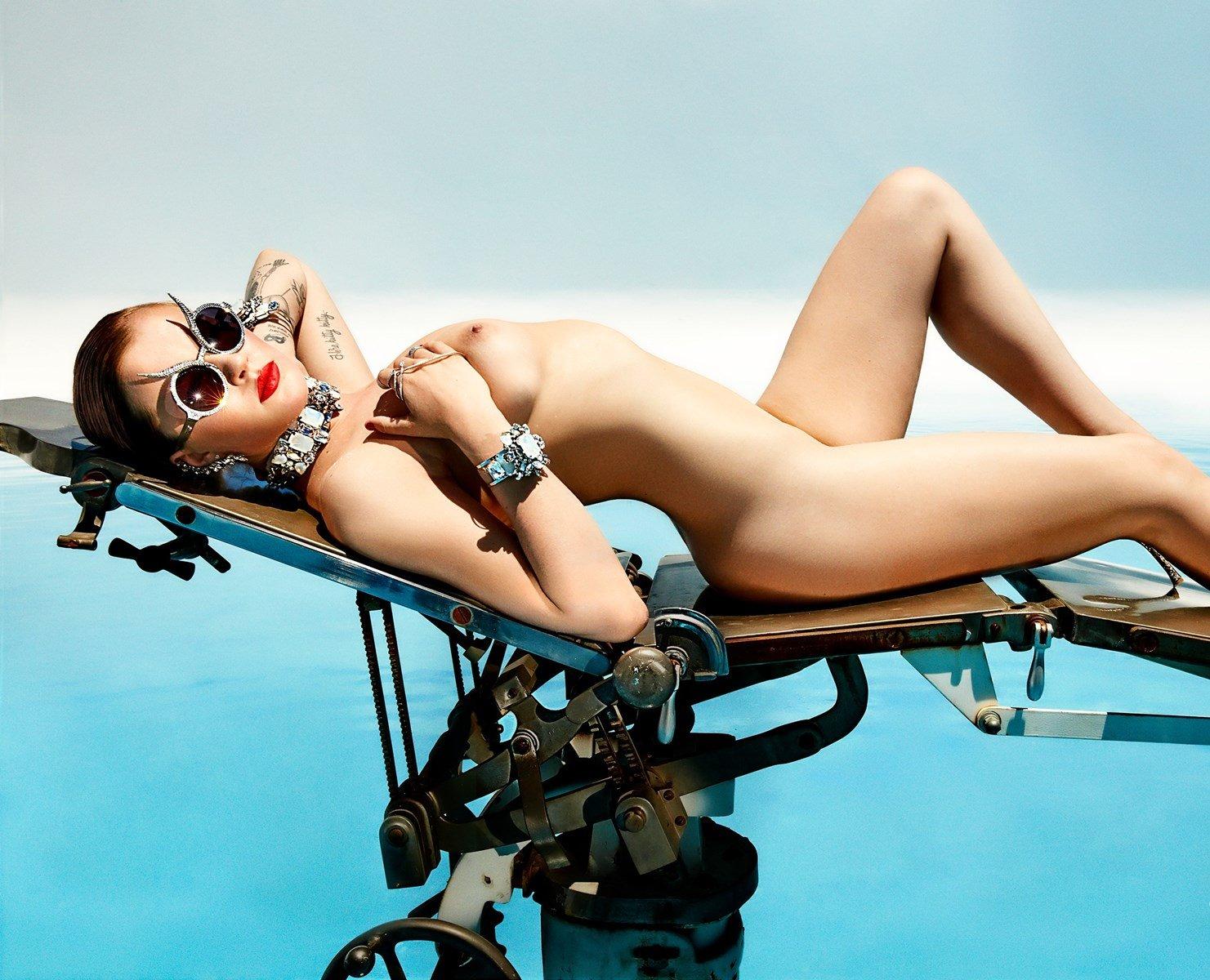 Ireland Baldwin Nude Photo Shoot Outtakes