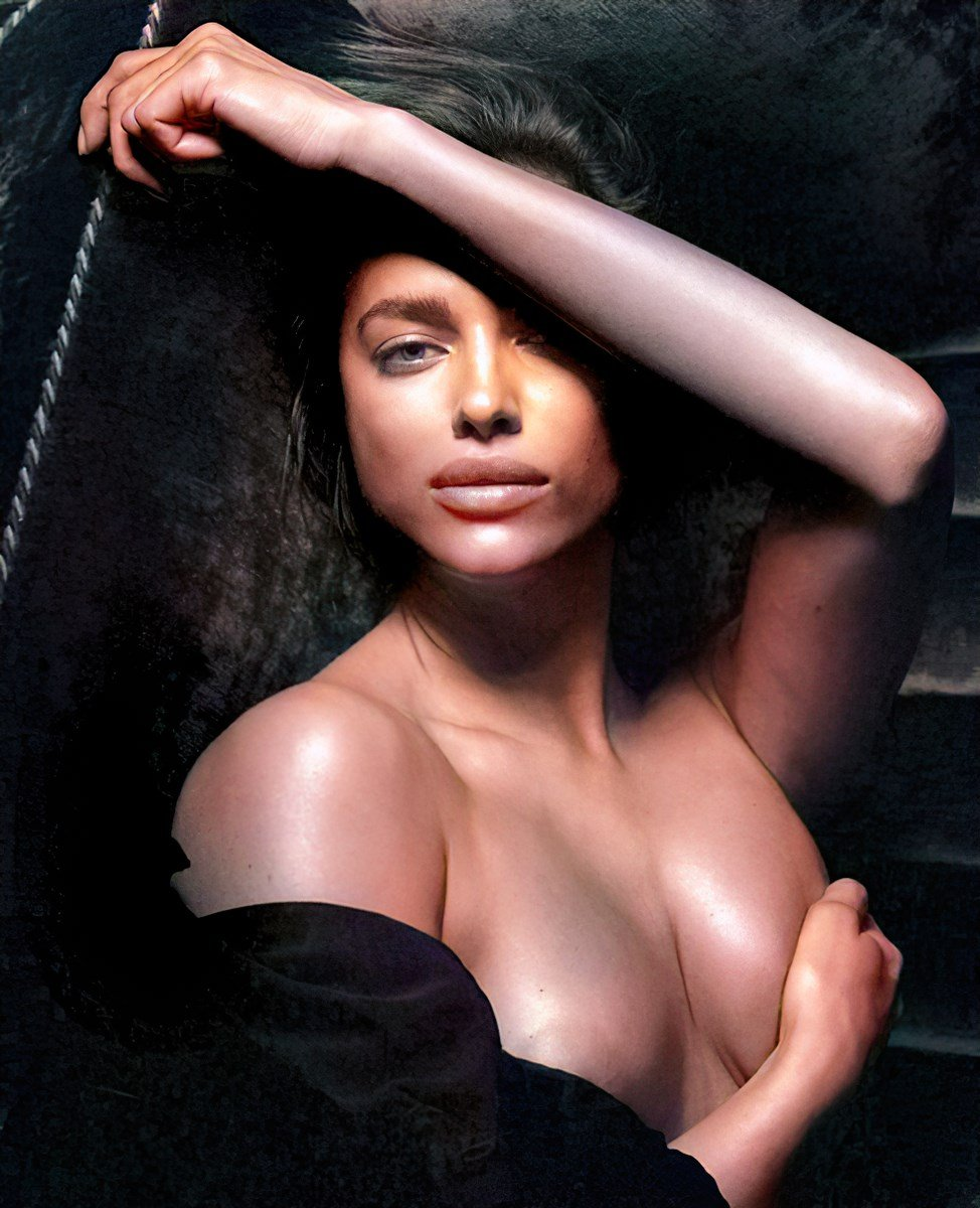 Irina Shayk Nudes Colorized And Nipple Outtakes