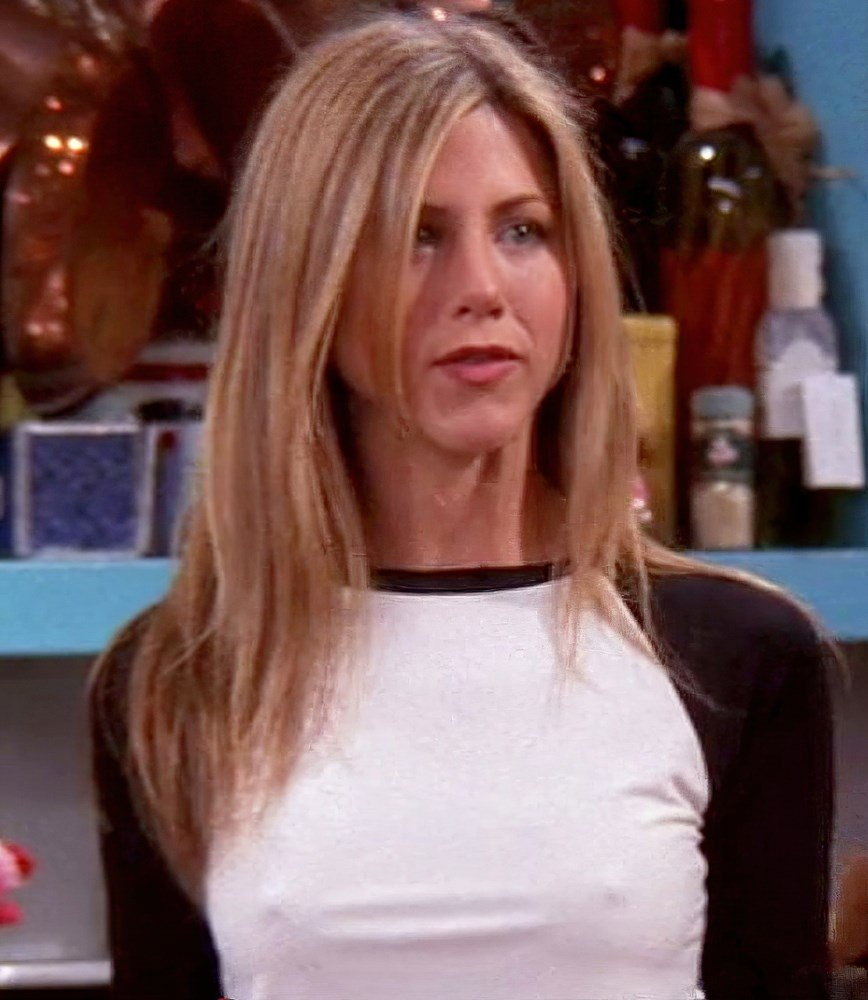 "Jennifer Aniston ""Friends"" Nipple Pokies Ultimate Compilation"