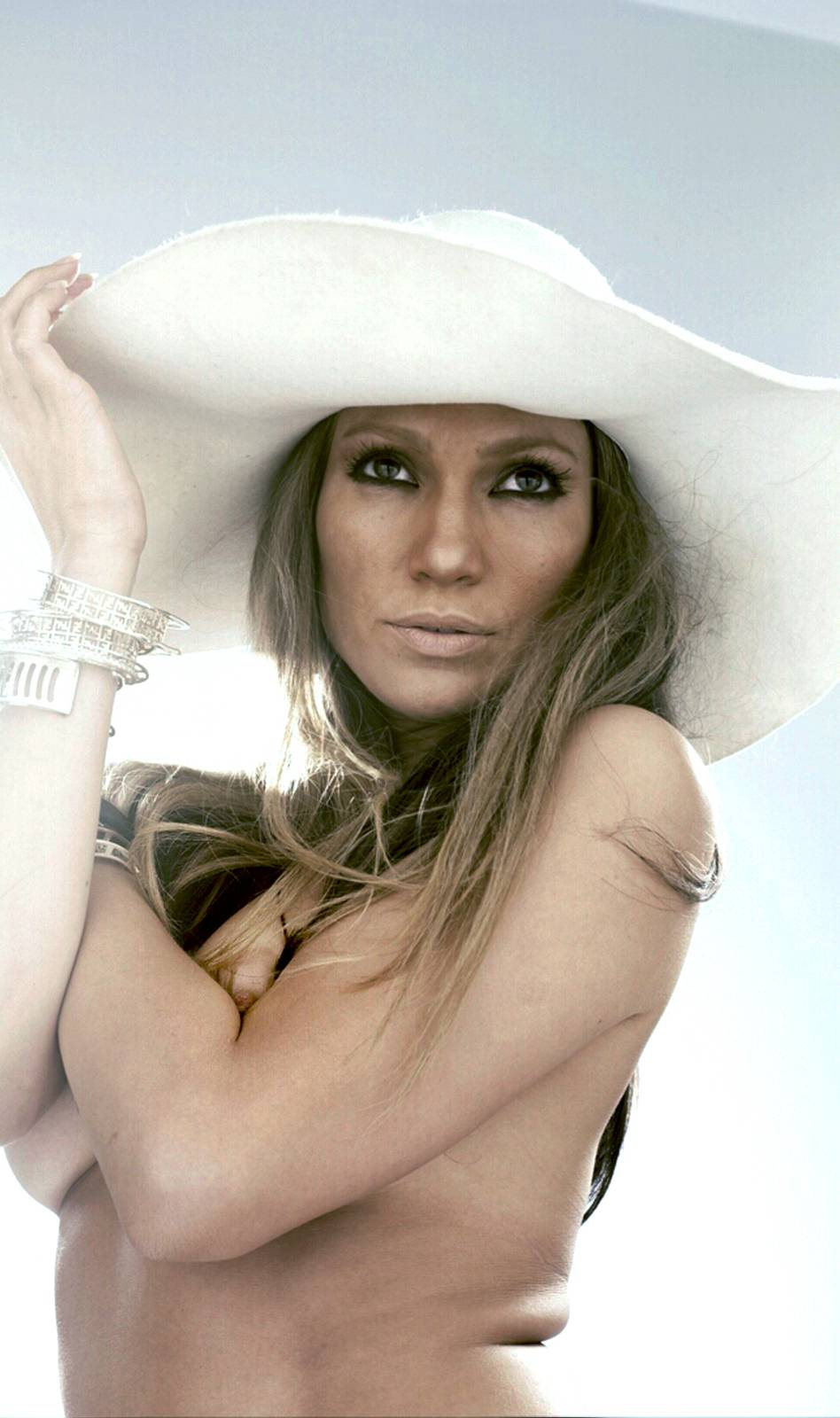 Jennifer Lopez Nip Slip In Topless Outtakes