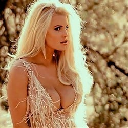 Jessica Simpson Uses Her Big Tits To Sell Perfume