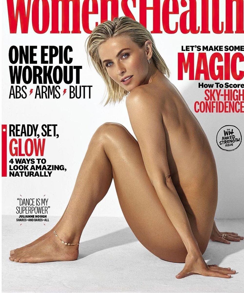 Jenna Dewan Beautiful Breasts In Topless Outtake