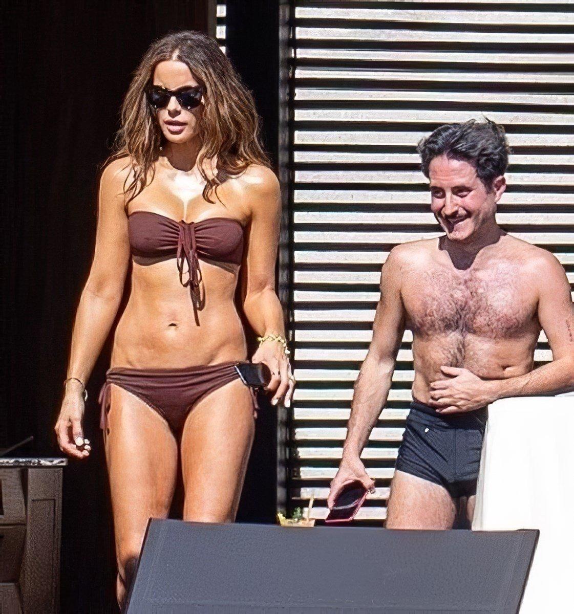 Kate Beckinsale Candid Bikini Pics With Her New Boy Toy