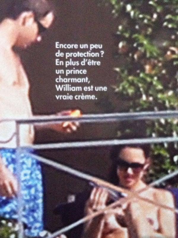 Princess Kate Middleton Topless Pics