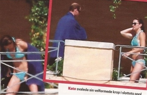 Princess Kate Middleton's Vagina In Newly Released Pics